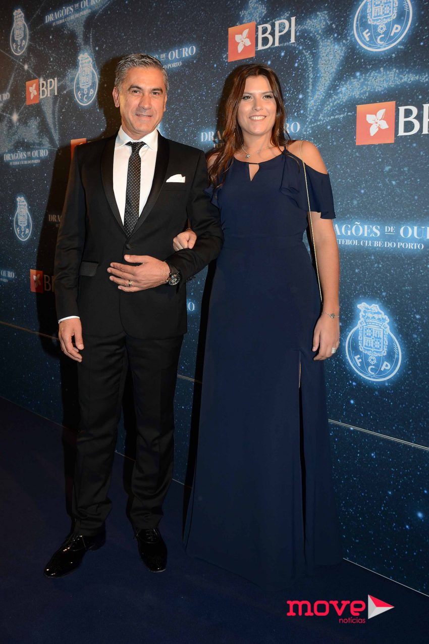 Eugénio Campos e a filha Rafaela
