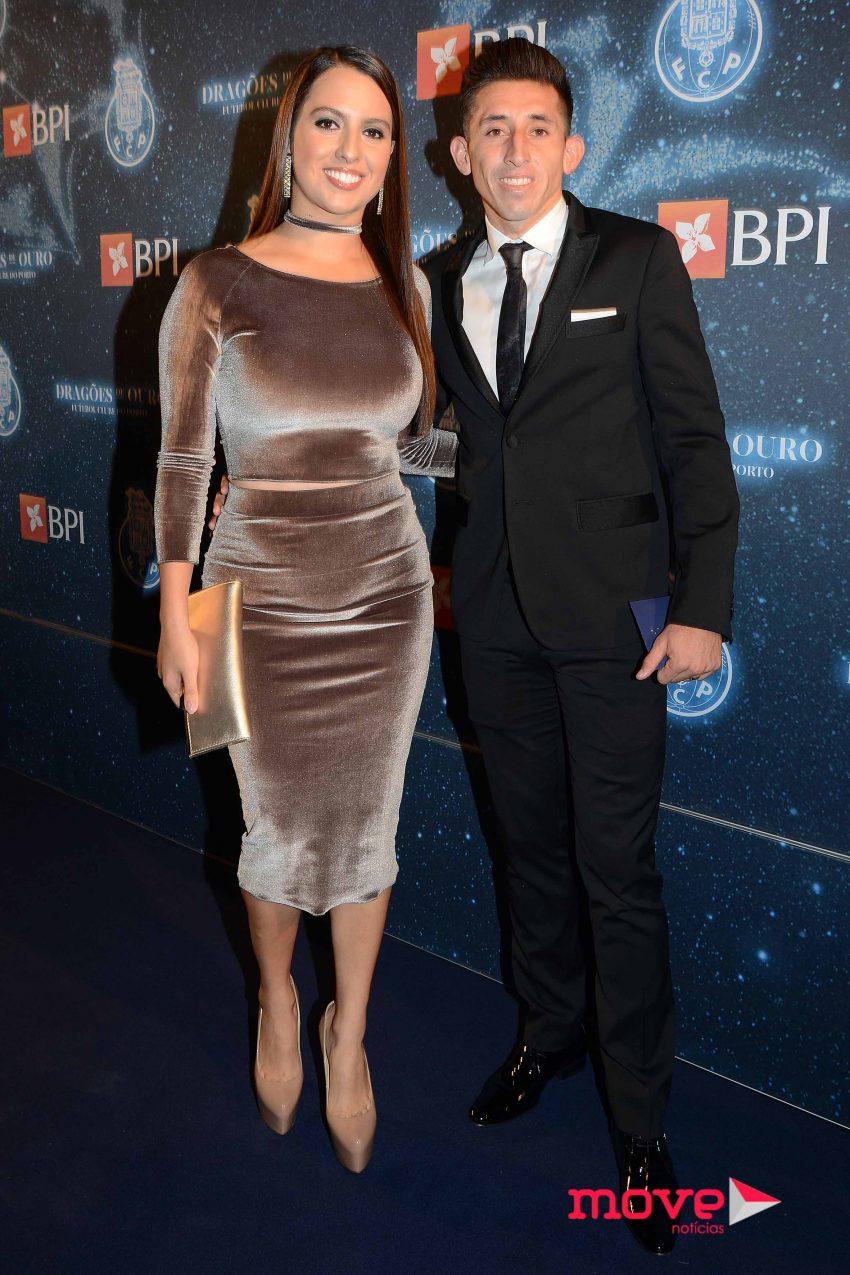 Chantal Mato e Hector Herrera