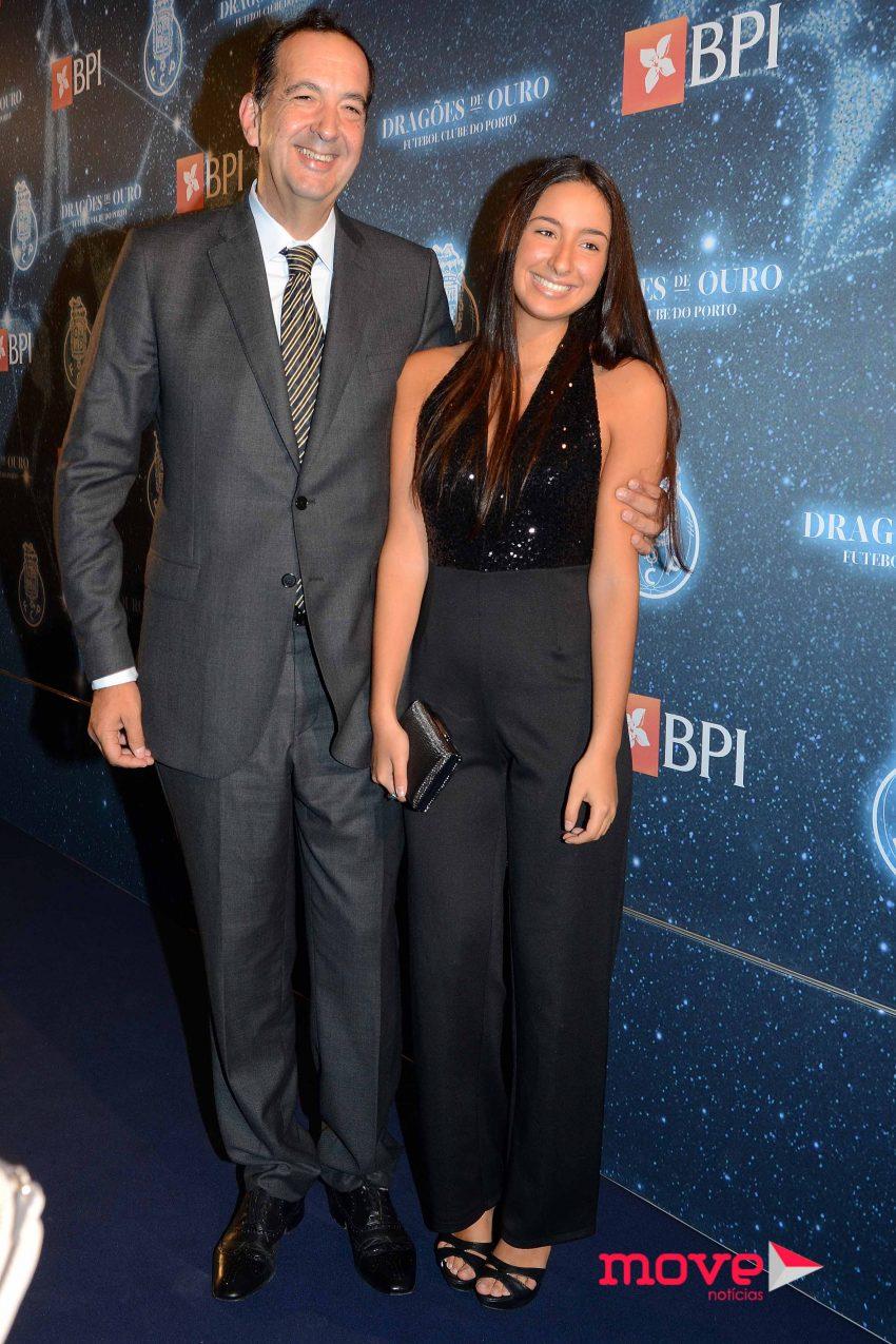 Nuno Cardoso e filha