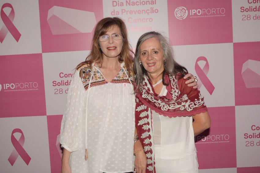 Isabel Sequeira, enfermeira diretora do IPO-Porto, e a enfermeira Lurdes Carvalho