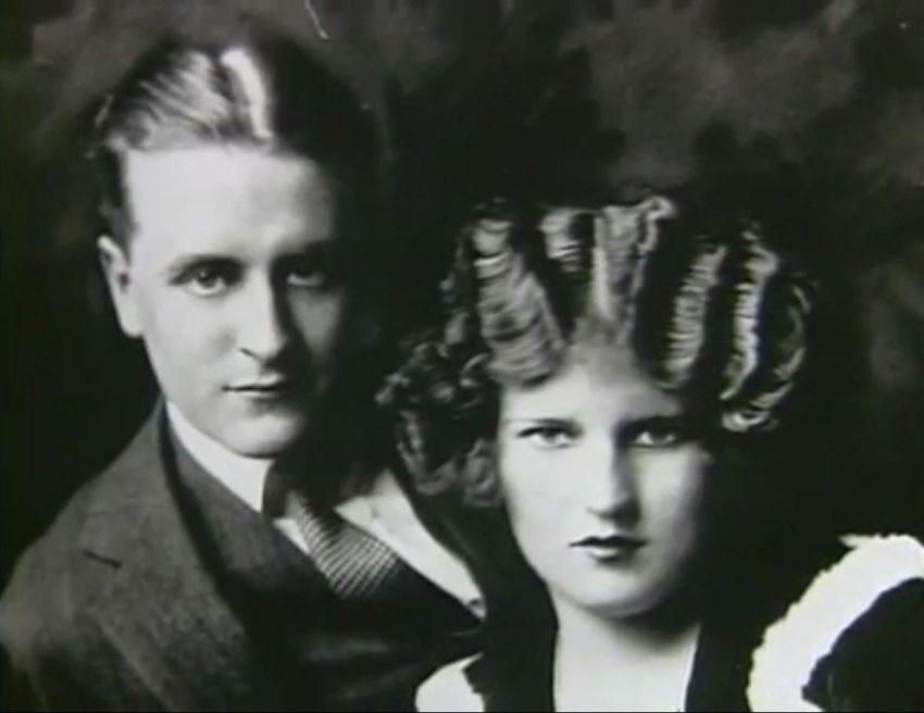 E com o marido, o escritor F. Scott Fitzgerald