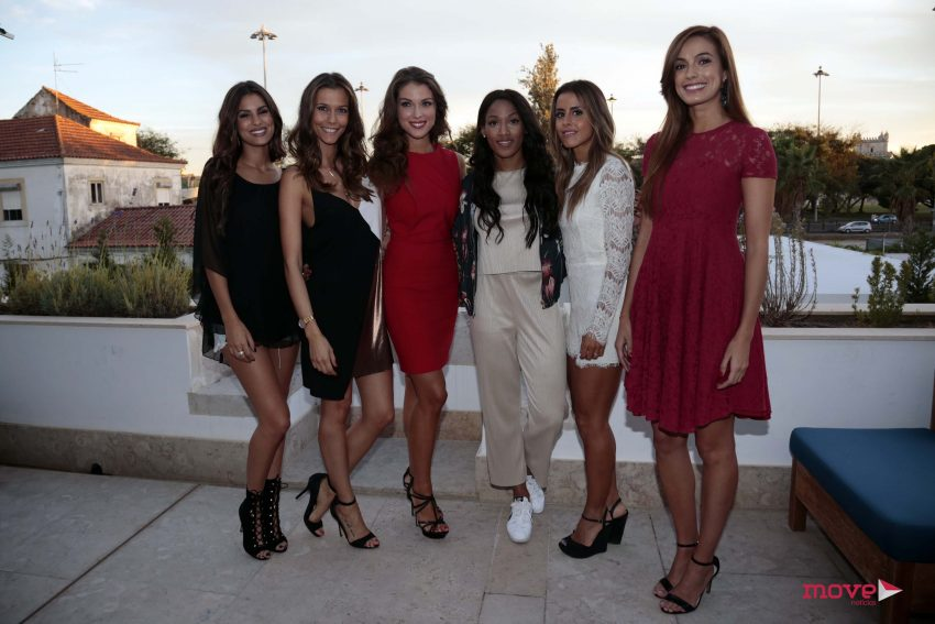 Carolina Patrocinio, Cláudia Borges, Catarina Sikiniotis, Patricia Mamona, Carolina Loureiro e Iva Lamarão