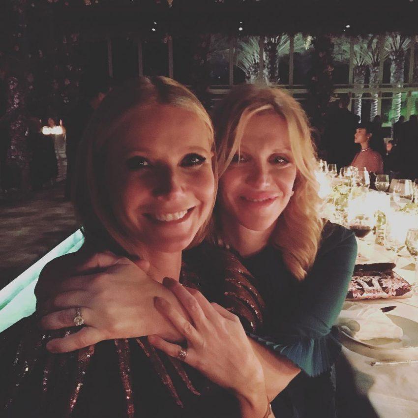 Gwyneth Paltrow e Courtney Love