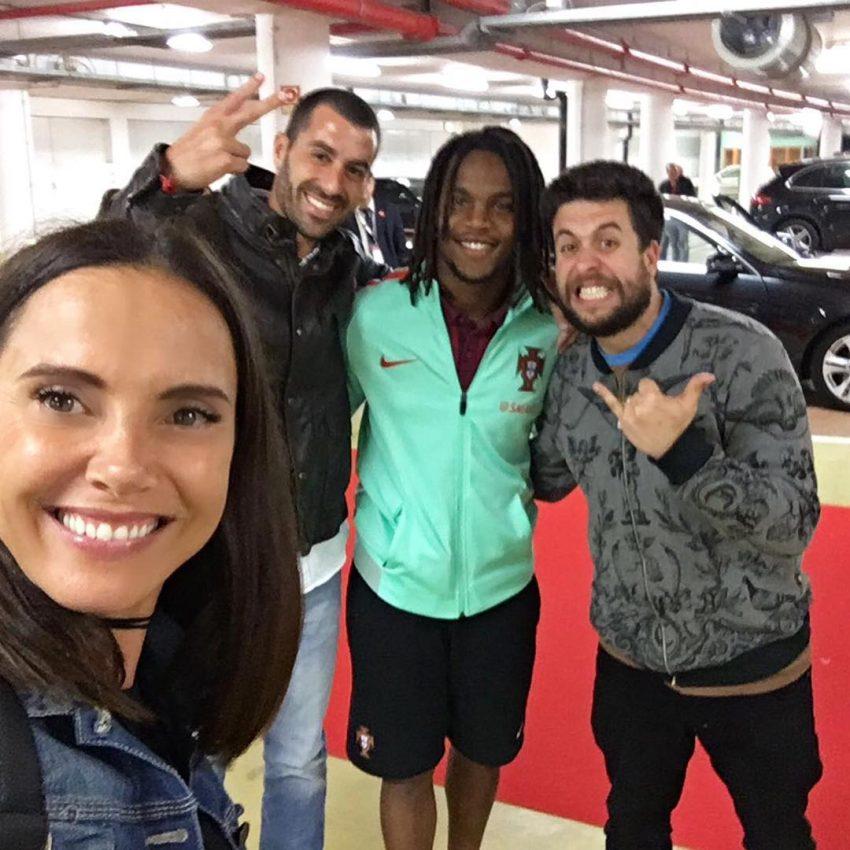 """""""Yeah!!"""", com Renato Sanches"""