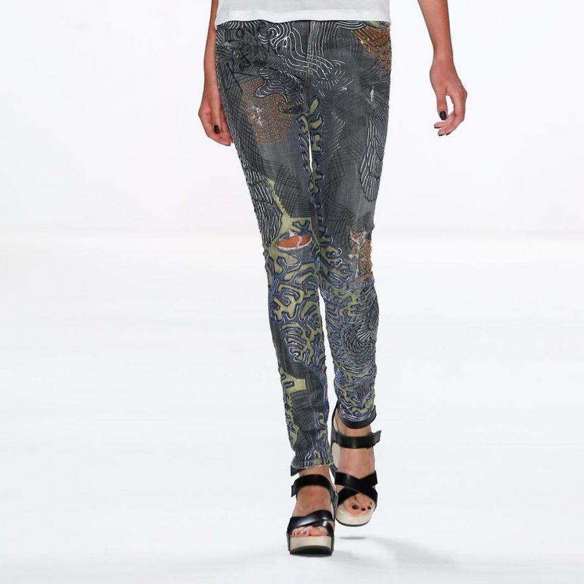 As calças de Kate Moss