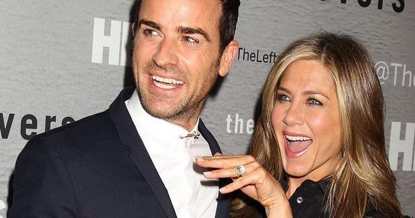 Justin Theroux e Jennifer Aniston estão juntos desde 2011