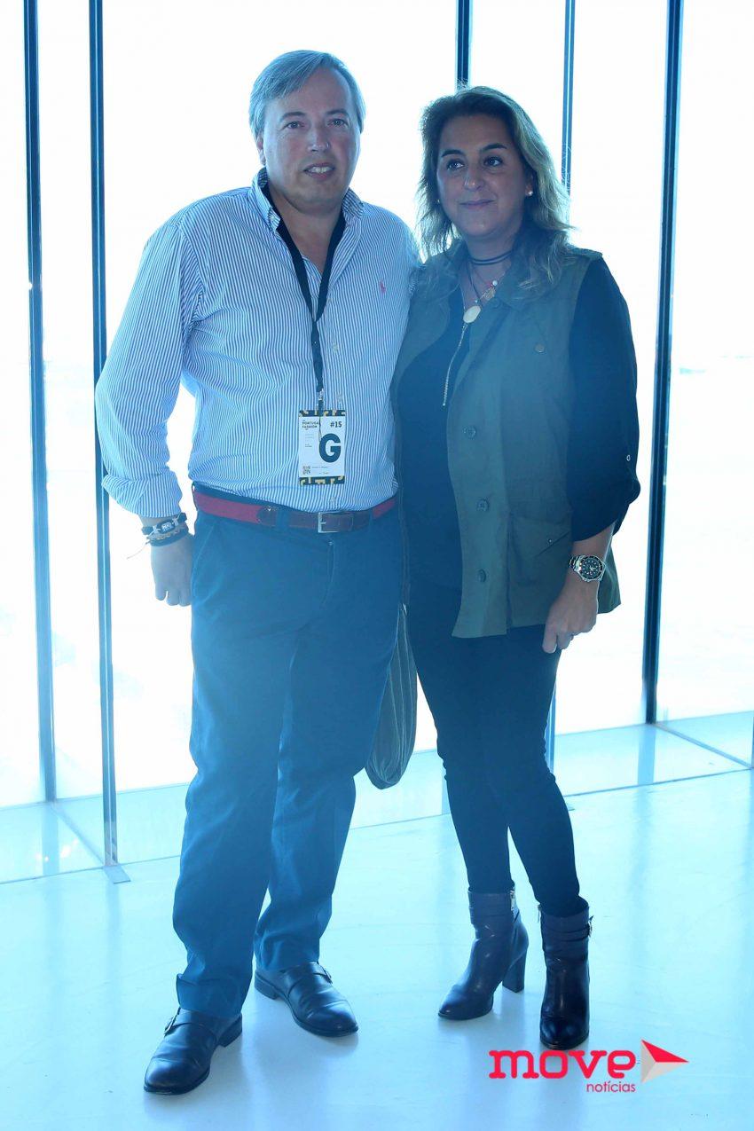 Ricardo Guimarães e Teresa Salgado