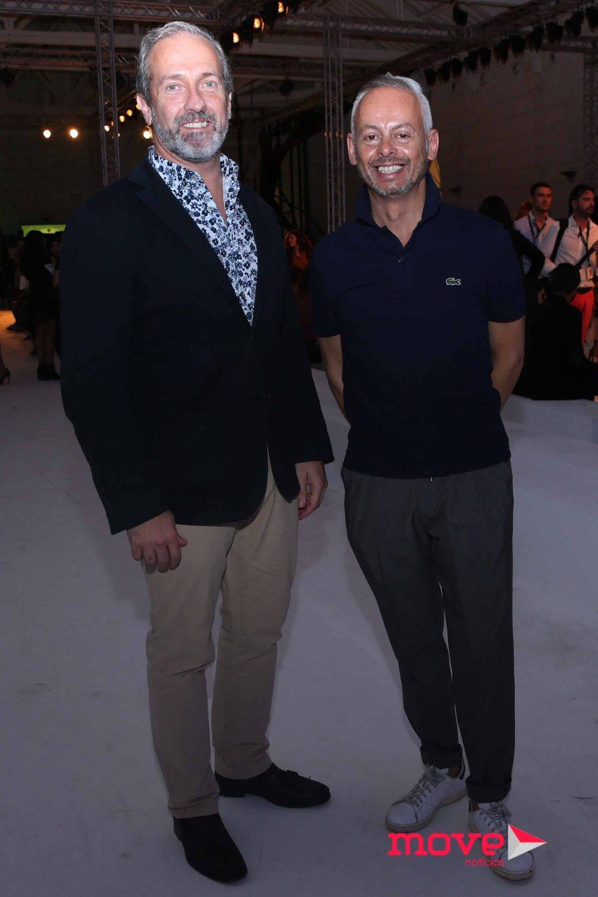 Paulo Sassetti e Bebe Moreira