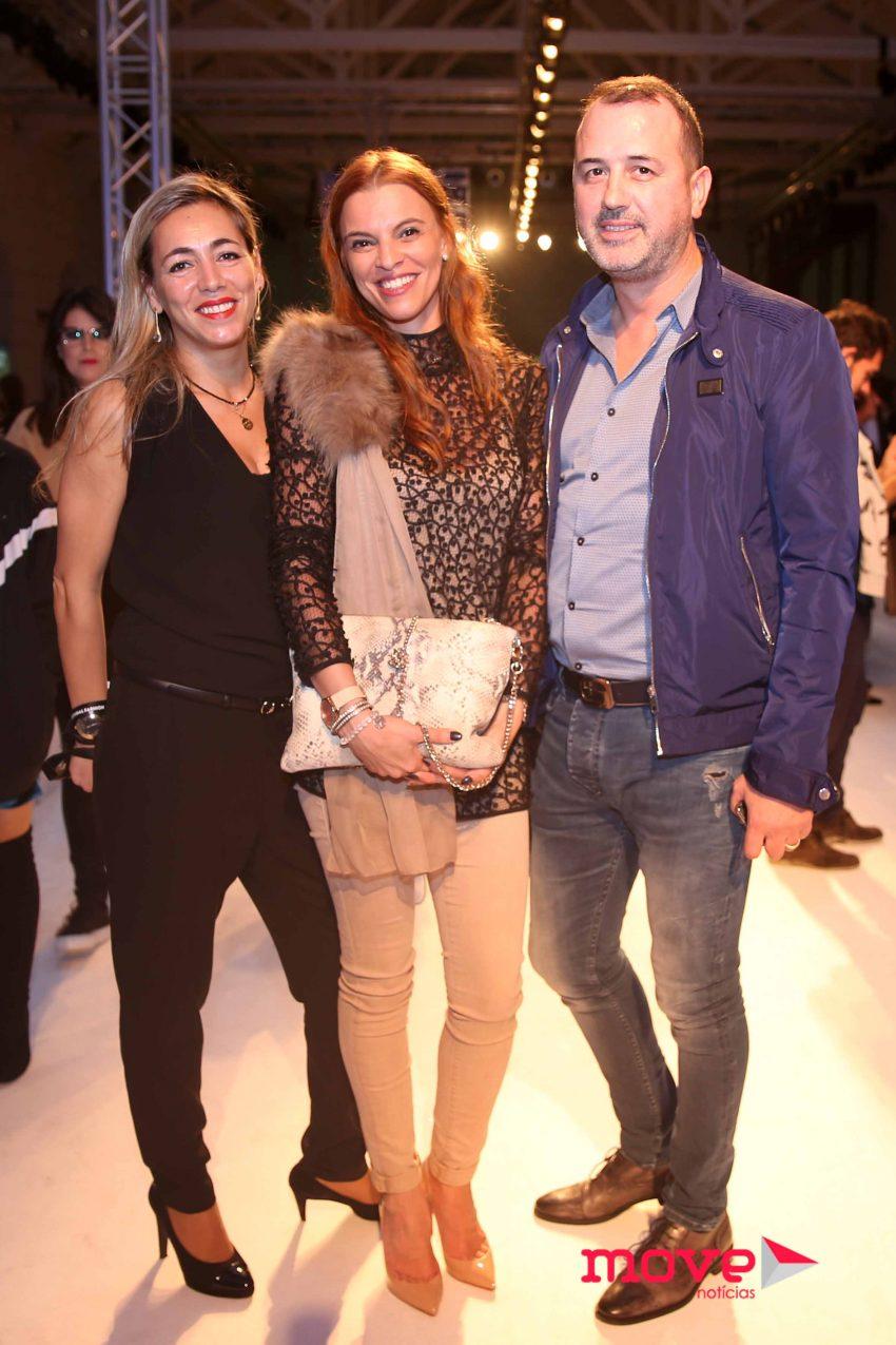 Paula Gomes, Clara Carrilho e David Freitas