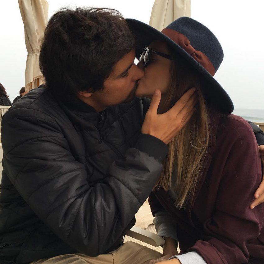 Com o noivo Francisco Alves