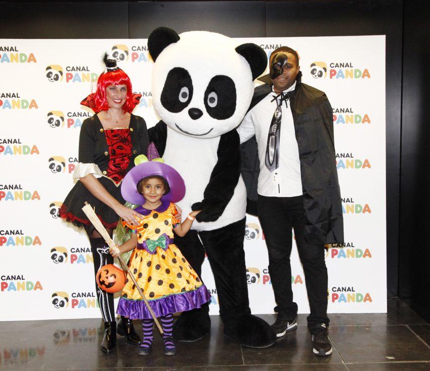 Jorge Andrade com a família