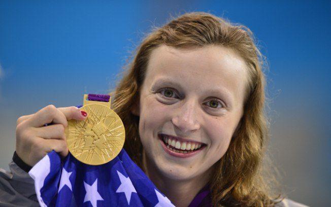 Katie Ledecky, 19 anos, nadadora