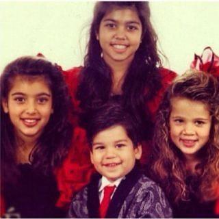 Os quatro filhos de Kris Jenner e do advogado Robert Kardashian