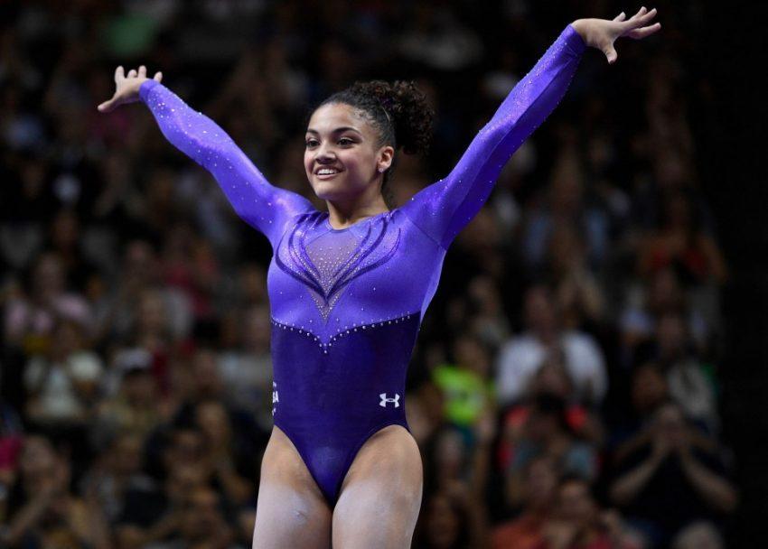 Laurie Hernandez, 16 anos, ginasta