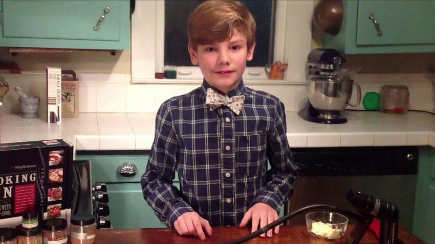 Logan Guleff ,14 anos, chef