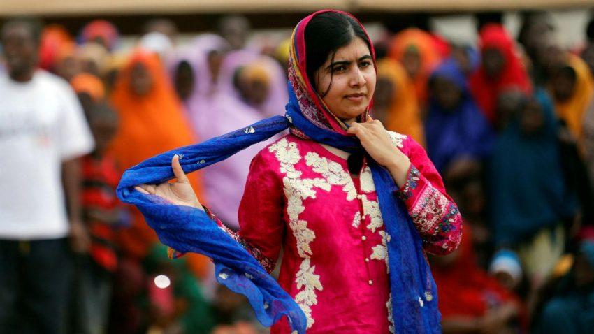 Malala Yousafzai, 19 anos, ativista