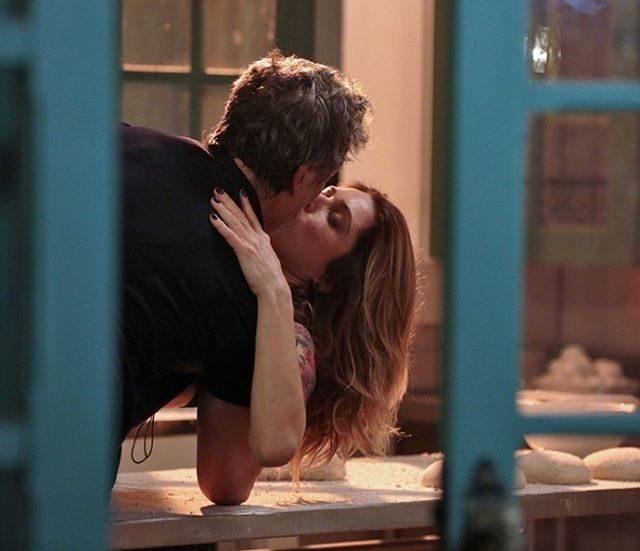 O beijo que delirou o público