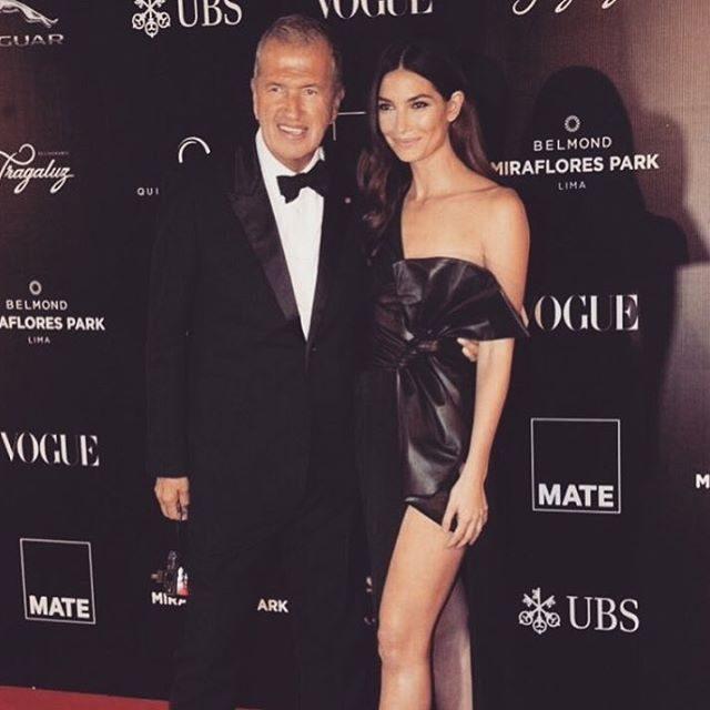 Mario Testino e Lily Aldridge