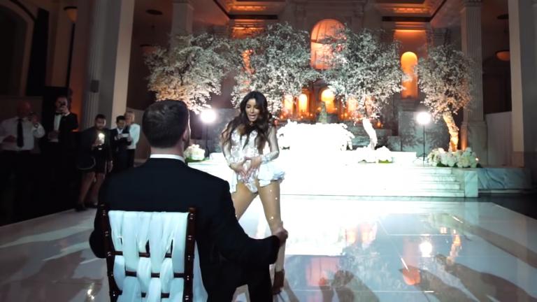 melissa-molinaro-imita-beyonce-no-casamento