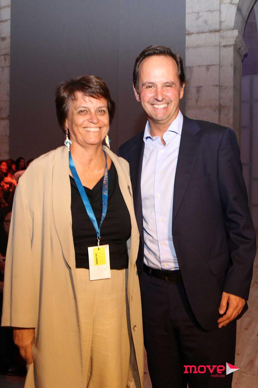 Catarina de Almeida Vaz Pinto e Fernando Medina