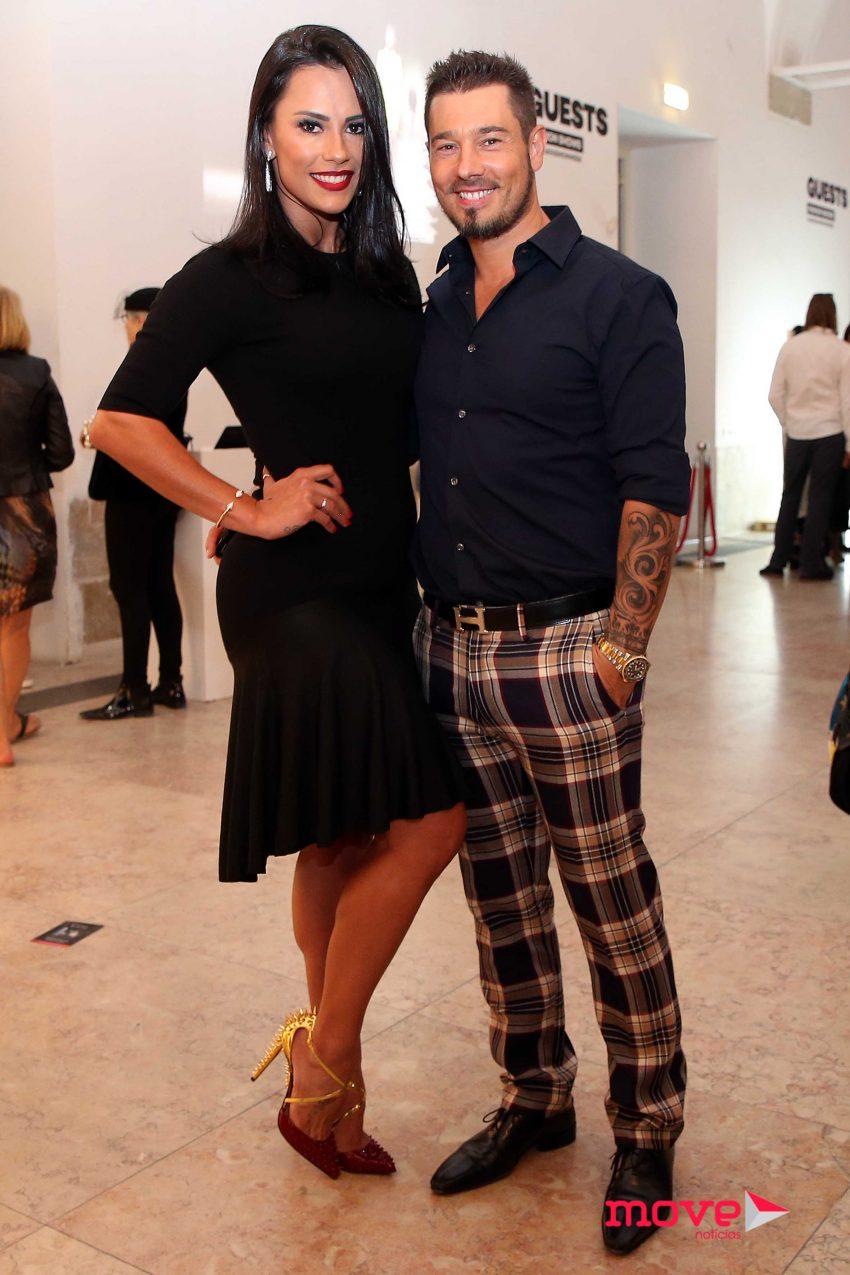 Kelly Medeiros e Marco António
