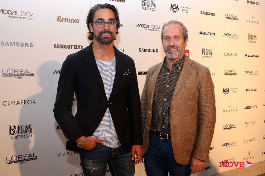 Paulo Sassetti e Marco António