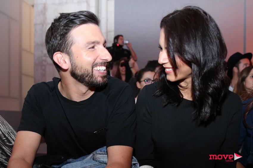 Olívia Ortiz e o namorado Daniel Poças