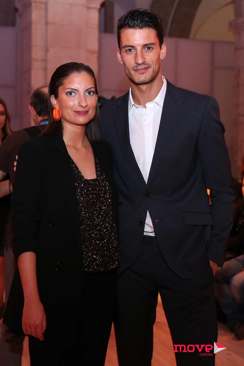 Ruben Rua com a irmã Filipa