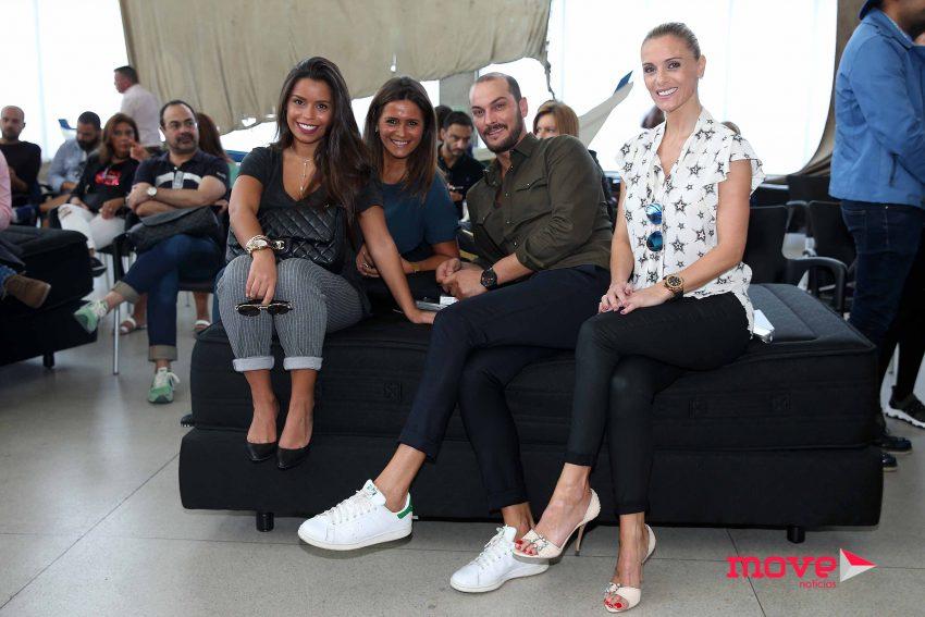 Diana Pinto, Carla Baía e Filipa de Castro