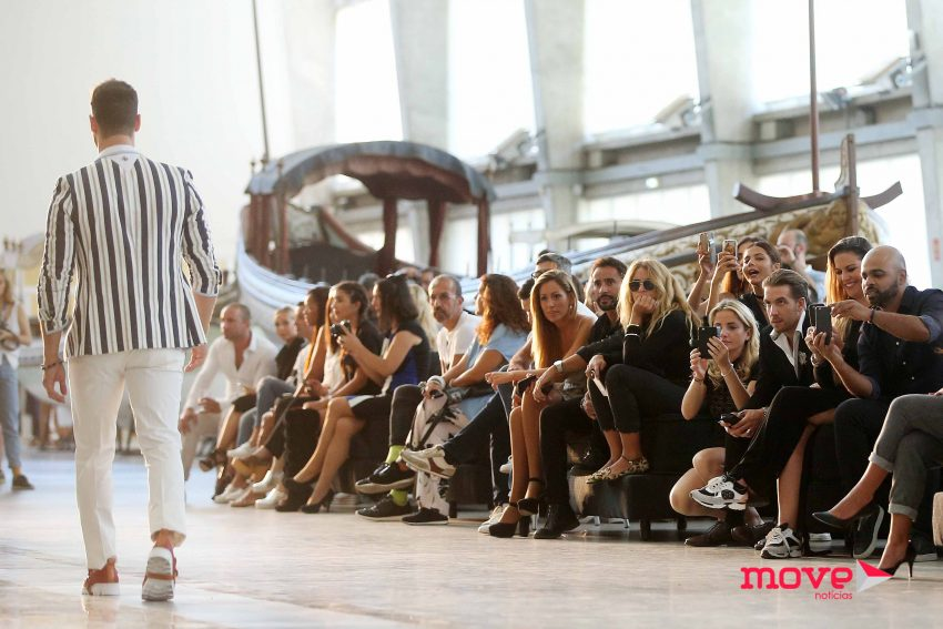 Desfile do estilista Nuno Gama