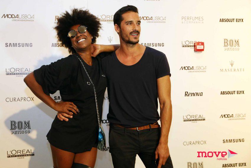 Mariama e Rodrigo Soares