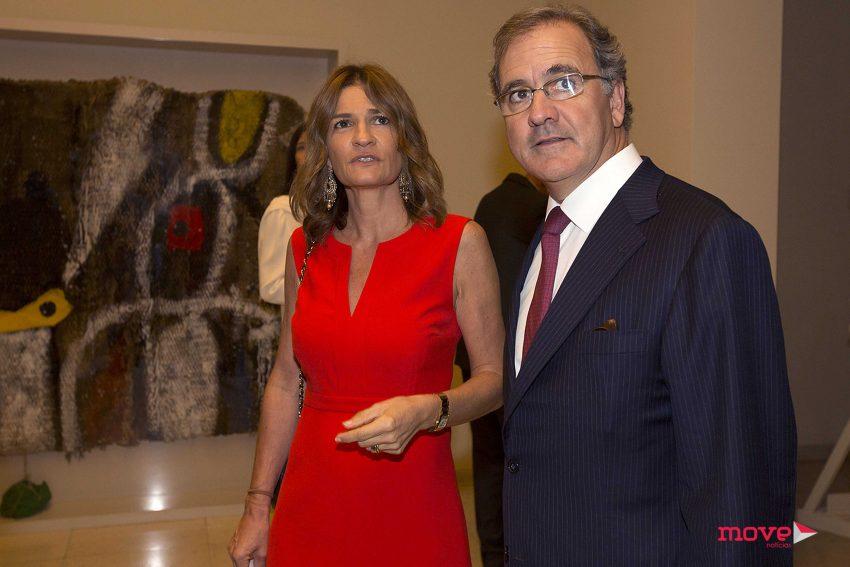 António Pires de Lima e a mulher Patrícia