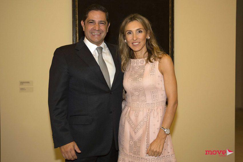 Mário Ferreira e Paula Paz Dias