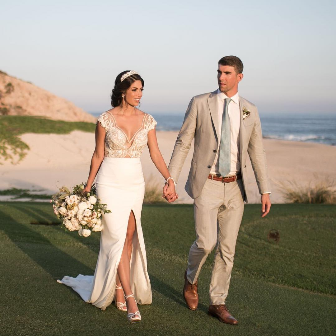 nicole-johnson-e-michael-phelps-casamento