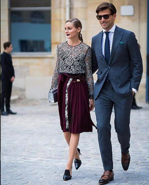 Olivia Palermo e o namorado
