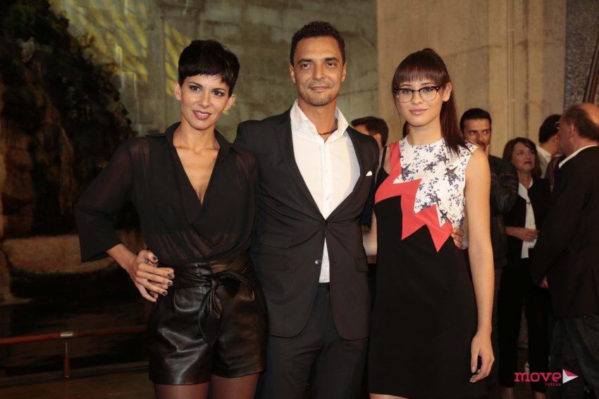 Susana Arrais, Pedro Hossi e Daniela Melchior