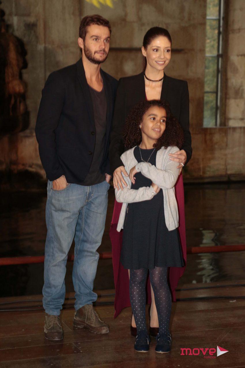 Fernando Pires, Sofia Escobar e Ema Melo
