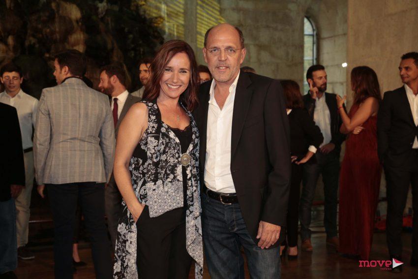 Sofia Nicholson e José Wallenstein