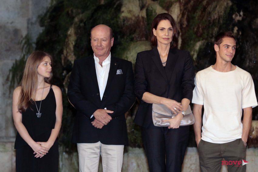 Mónica Duarte, Luís Esparteiro, Sílvia Pfeifer e Rodrigo Paganeli