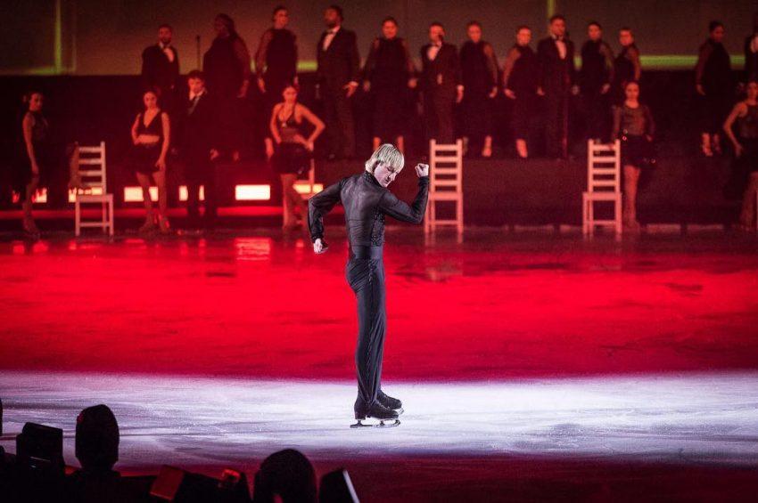 O patinador russo Plushenko