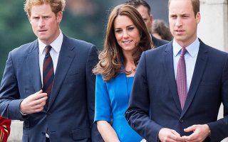 Príncipe Harry e os Duques de Cambridge