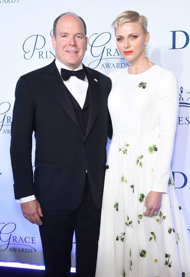 Príncipe Alberto e Charlene do Mónaco