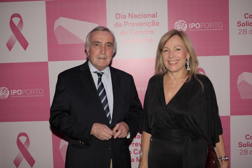 Rosa Begonha, Diretora Clínica do IPO-Porto, com o marido