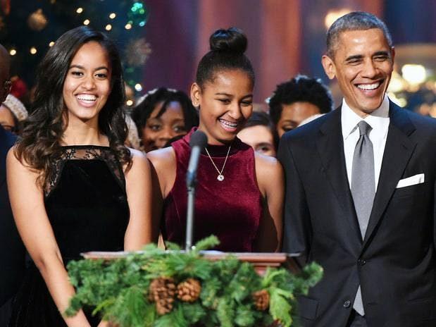 Sasha e Malia Obama, 15 e 18 anos