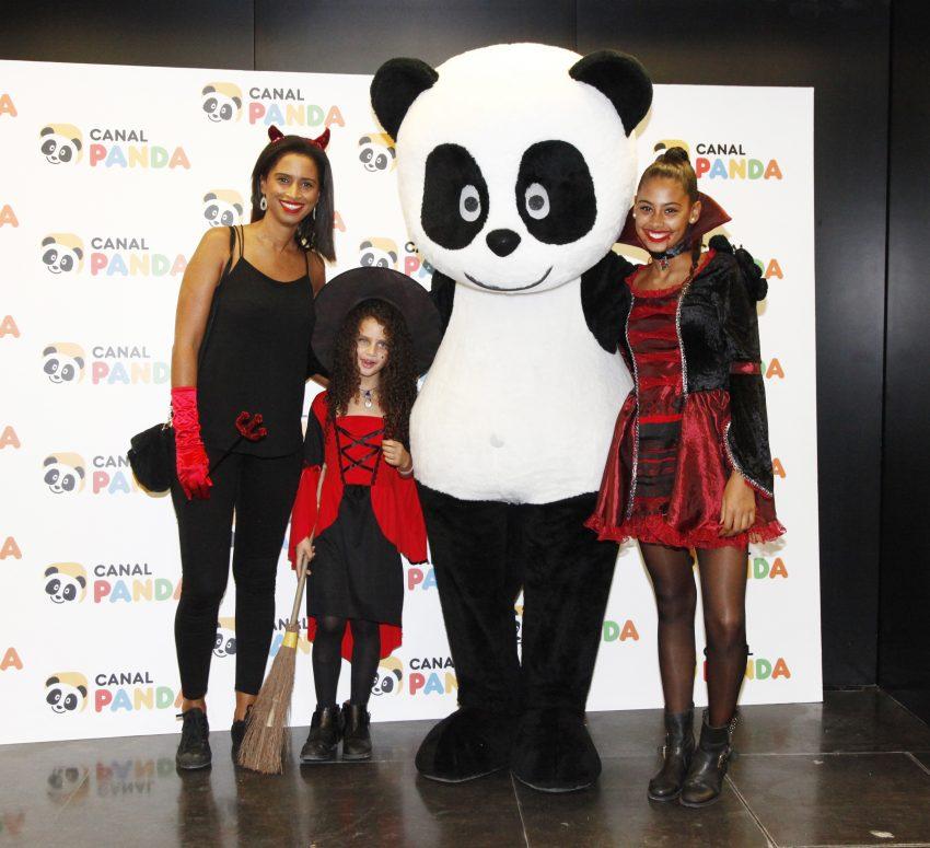 Swailla Castro com Madalena e Carolina