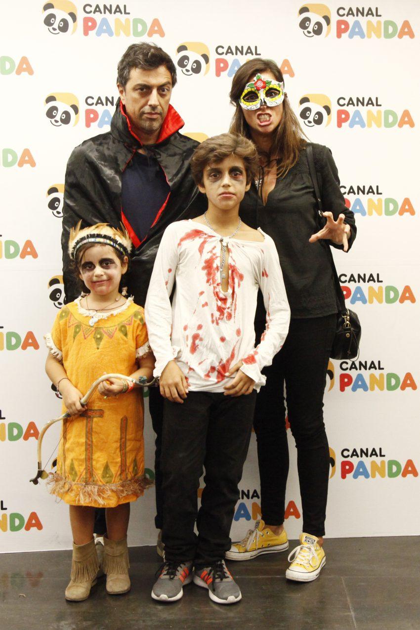 Teresa Peres, Miguel Ribeiro, Francisco e Matilde