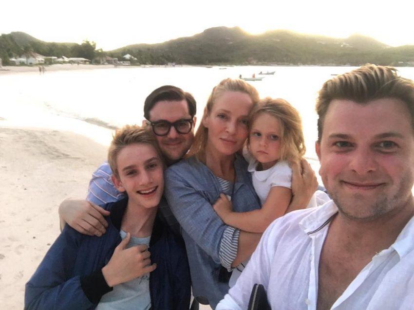 Numas férias em família