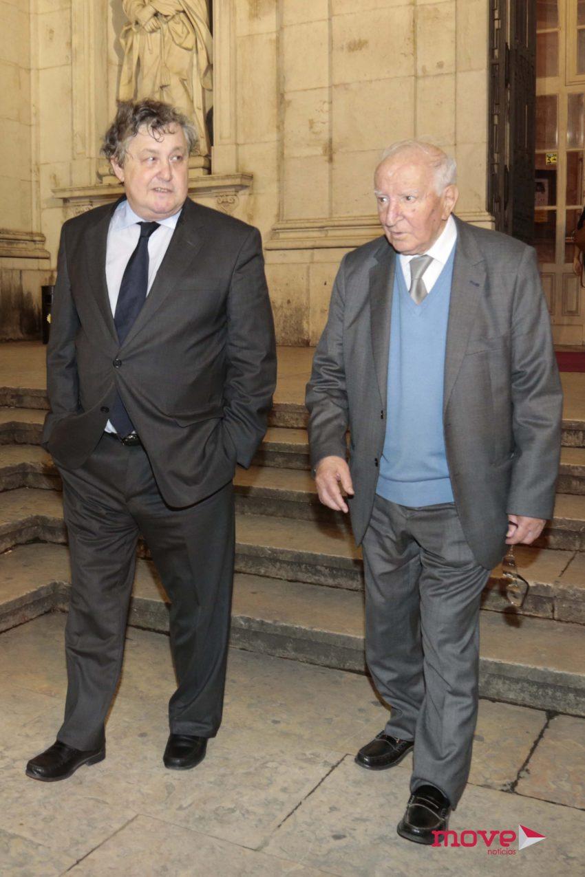 Manuel Lobo Antunes e Adriano Moreira