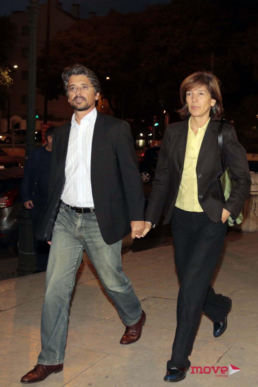 Sérgio Figueiredo e Margarida Pinto Correia