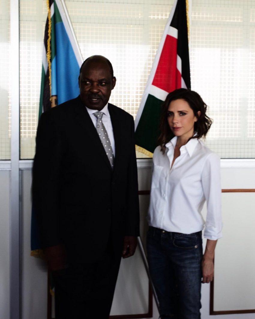 Com o governador Ranguma, de Kisumu
